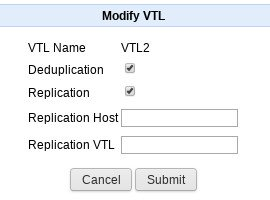 Modify VTL